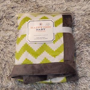 Happy Chic Baby blanket,Brand new!